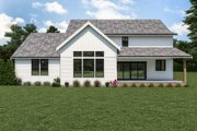 Farmhouse Style House Plan - 4 Beds 2.5 Baths 3828 Sq/Ft Plan #1070-119 Exterior - Rear Elevation