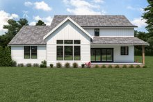 House Design - Farmhouse Exterior - Rear Elevation Plan #1070-119