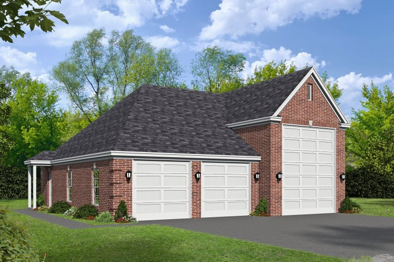 Home Plan - Southern Exterior - Front Elevation Plan #932-78