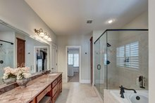 Architectural House Design - Traditional Interior - Master Bathroom Plan #437-118