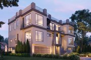 Modern Style House Plan - 7 Beds 8.5 Baths 5109 Sq/Ft Plan #1066-105 Exterior - Other Elevation