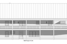 Country Exterior - Rear Elevation Plan #932-308