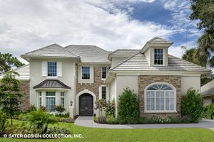 Dream House Plan - European Exterior - Front Elevation Plan #930-517