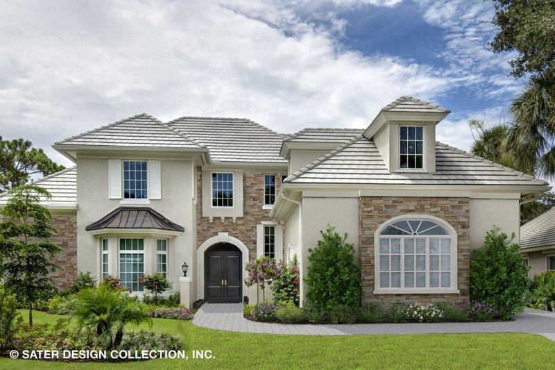 Home Plan - European Exterior - Front Elevation Plan #930-517
