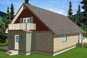 Cottage Style House Plan - 4 Beds 3 Baths 3164 Sq/Ft Plan #126-167 Exterior - Other Elevation