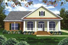 Home Plan - Traditional Exterior - Front Elevation Plan #21-231