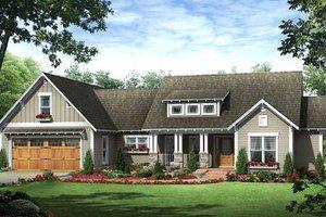 Craftsman Exterior - Front Elevation Plan #21-279