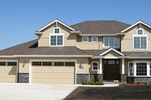 Home Plan - Traditional Exterior - Front Elevation Plan #124-525