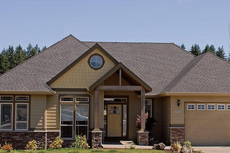 Craftsman Photo Plan #48-410 - Houseplans.com
