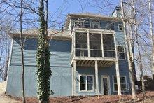 Architectural House Design - Craftsman Exterior - Rear Elevation Plan #437-91