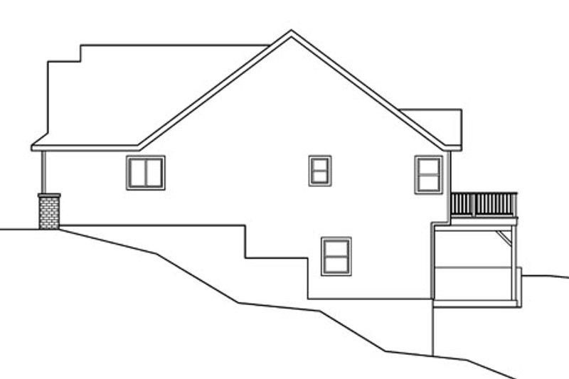 Exterior - Other Elevation Plan #124-756 - Houseplans.com