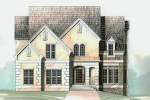 Colonial Exterior - Front Elevation Plan #119-289