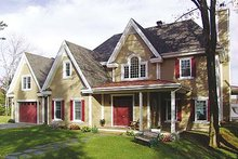 House Plan Design - Farmhouse Photo Plan #23-877