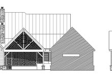 Dream House Plan - Traditional Exterior - Rear Elevation Plan #932-212