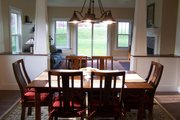 Craftsman Style House Plan - 3 Beds 2.5 Baths 2310 Sq/Ft Plan #461-9 Interior - Dining Room