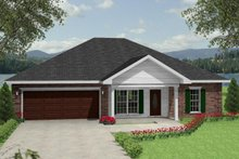 Architectural House Design - Traditional Exterior - Front Elevation Plan #44-135