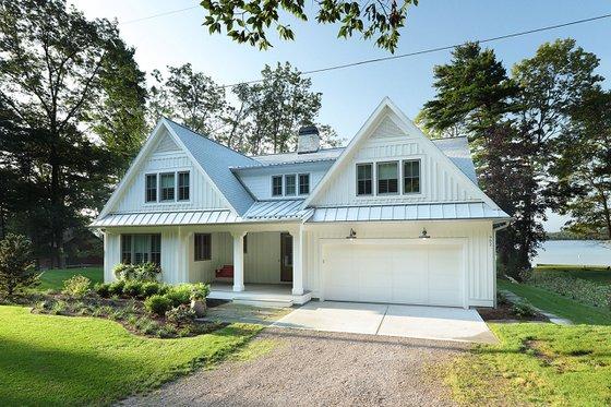 Home Plan - Farmhouse Exterior - Front Elevation Plan #928-310