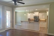 European Style House Plan - 3 Beds 2 Baths 1826 Sq/Ft Plan #430-122 Interior - Family Room