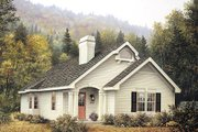 Farmhouse Style House Plan - 4 Beds 2 Baths 1452 Sq/Ft Plan #57-308