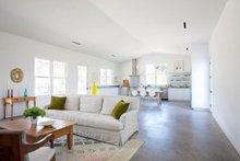 Ranch Interior - Family Room Plan #888-2