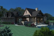 Architectural House Design - Craftsman Exterior - Other Elevation Plan #120-168