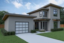 Contemporary Exterior - Other Elevation Plan #1070-66
