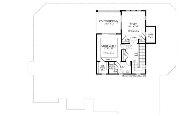 Dream House Plan - Ranch Floor Plan - Upper Floor Plan #938-112