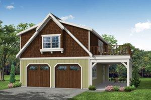 Farmhouse Exterior - Front Elevation Plan #124-893