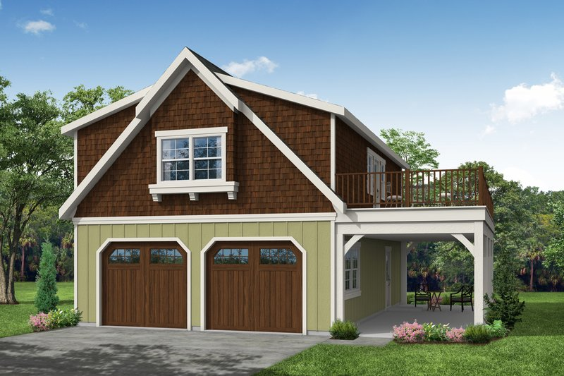 Farmhouse Style House Plan - 0 Beds 1 Baths 1826 Sq/Ft Plan #124-893 Exterior - Front Elevation