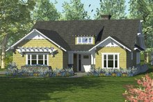 Craftsman Exterior - Front Elevation Plan #453-59