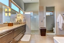 Architectural House Design - Modern Interior - Master Bathroom Plan #892-12