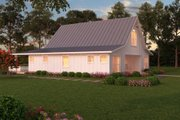 Farmhouse Style House Plan - 3 Beds 2.5 Baths 2720 Sq/Ft Plan #888-13 Exterior - Rear Elevation