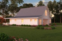 Dream House Plan - Farmhouse Exterior - Rear Elevation Plan #888-13