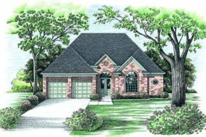Dream House Plan - European Exterior - Front Elevation Plan #20-863