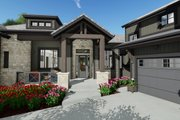 Farmhouse Style House Plan - 2 Beds 2.5 Baths 2442 Sq/Ft Plan #1069-21 Exterior - Other Elevation