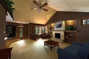 Craftsman Style House Plan - 3 Beds 2 Baths 1807 Sq/Ft Plan #51-519 Exterior - Other Elevation
