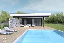Modern Exterior - Other Elevation Plan #552-7