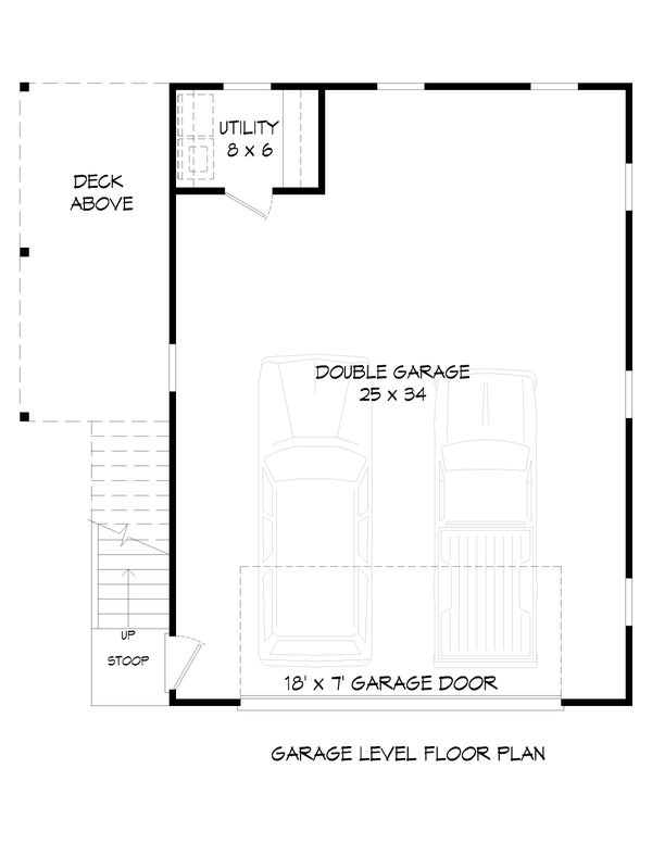 Country Floor Plan - Main Floor Plan Plan #932-253