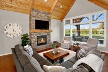 Craftsman Interior - Family Room Plan #1070-15