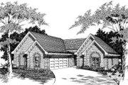 European Style House Plan - 3 Beds 2 Baths 1838 Sq/Ft Plan #329-109