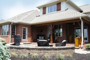 European Style House Plan - 4 Beds 5 Baths 5380 Sq/Ft Plan #458-3
