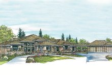 Home Plan - Exterior - Other Elevation Plan #124-445