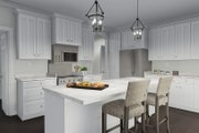 Craftsman Style House Plan - 4 Beds 2.5 Baths 2473 Sq/Ft Plan #1060-57 Interior - Kitchen