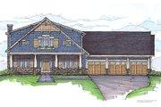 Craftsman Style House Plan - 4 Beds 4 Baths 3298 Sq/Ft Plan #459-6