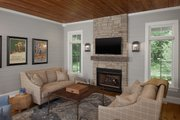 Country Style House Plan - 4 Beds 4.5 Baths 4932 Sq/Ft Plan #928-276 Interior - Other