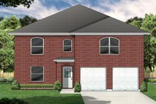 Home Plan - Traditional Exterior - Front Elevation Plan #84-390