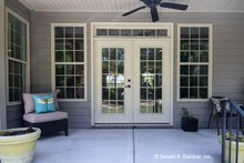 House Design - Country Exterior - Outdoor Living Plan #929-610