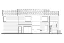 Dream House Plan - Modern Exterior - Other Elevation Plan #124-922