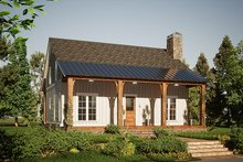 Home Plan - Country Exterior - Front Elevation Plan #923-207