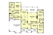 Farmhouse Style House Plan - 4 Beds 3.5 Baths 2751 Sq/Ft Plan #430-199 Floor Plan - Main Floor
